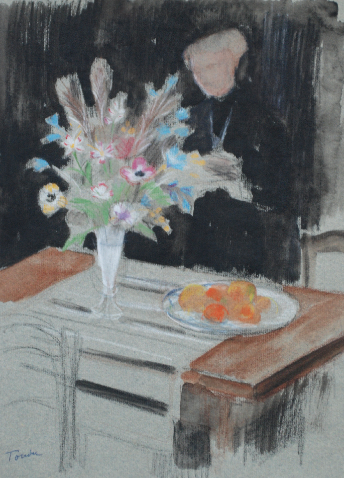 andre-tondu-la-dame-au-bouquet