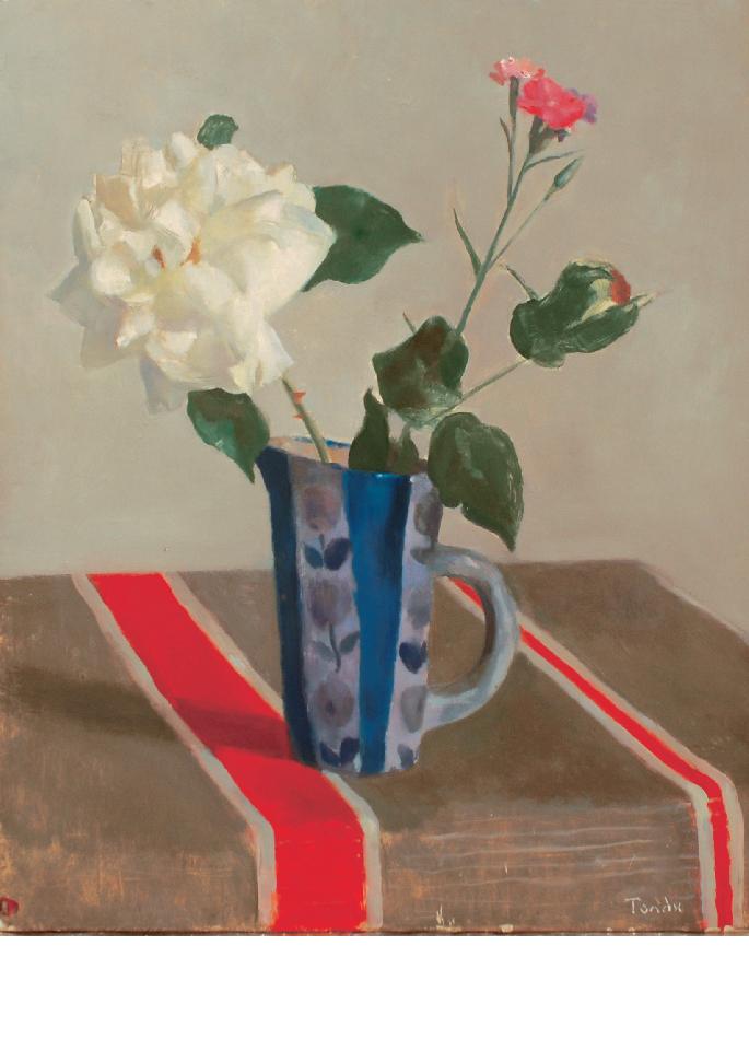 andre-tondu-bouquet-a-la-rose-blanche