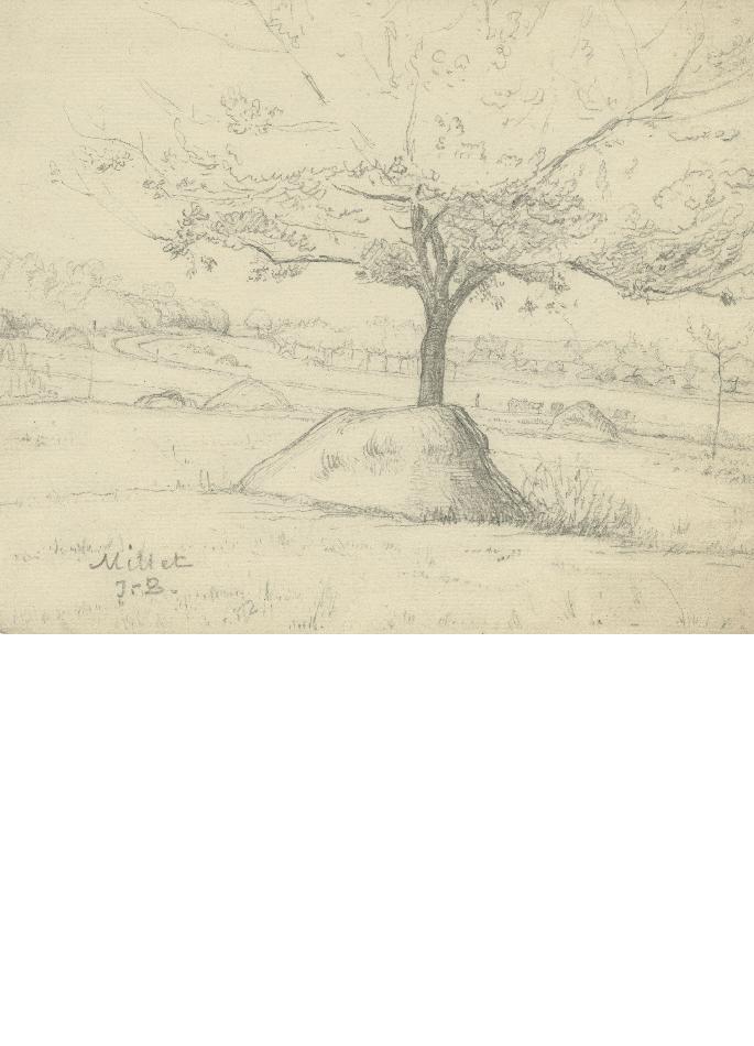 millet-paysage-a-l-arbre