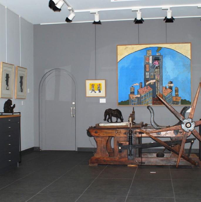 Exposition Antonio Segui