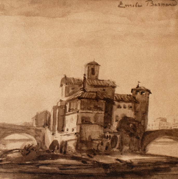 Exposition Émile Bernard. Sépias retrouvées