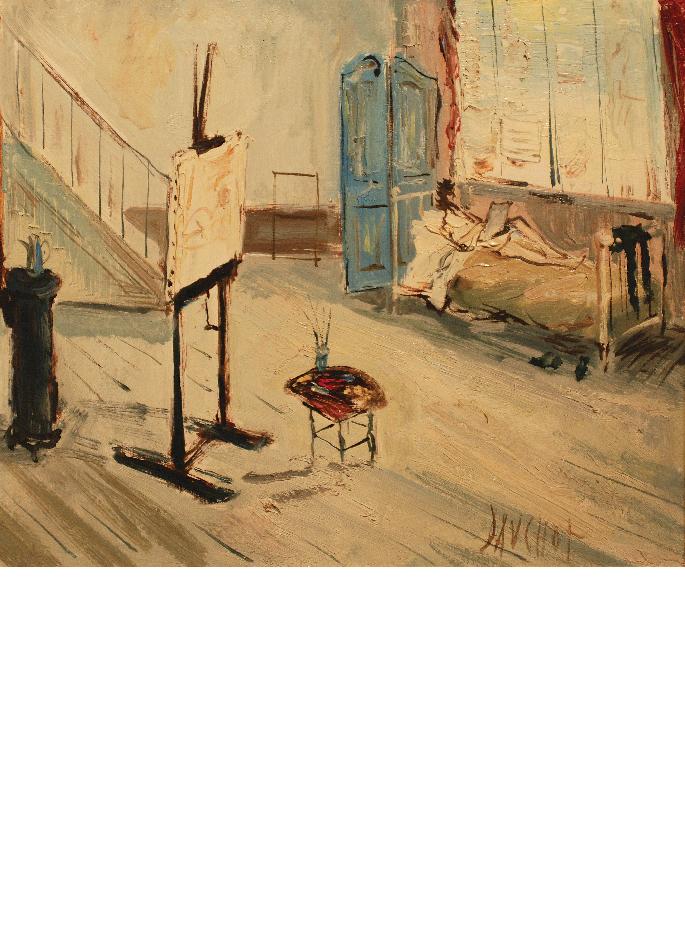 gabriel-dauchot-le-peintre-au-lit