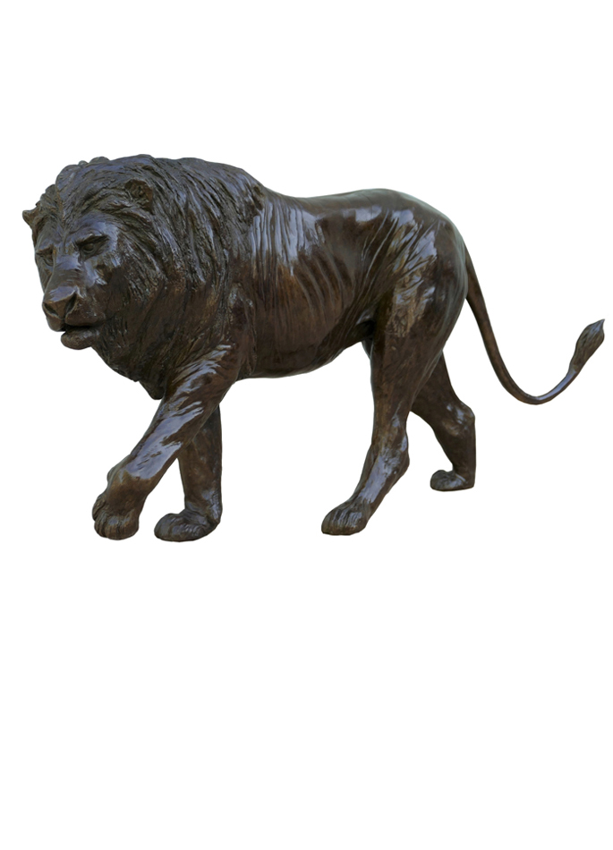 Damien Colcombet-Grand lion marchant