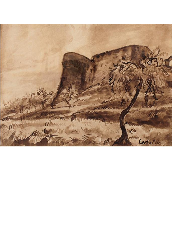 certaldo chateau italie