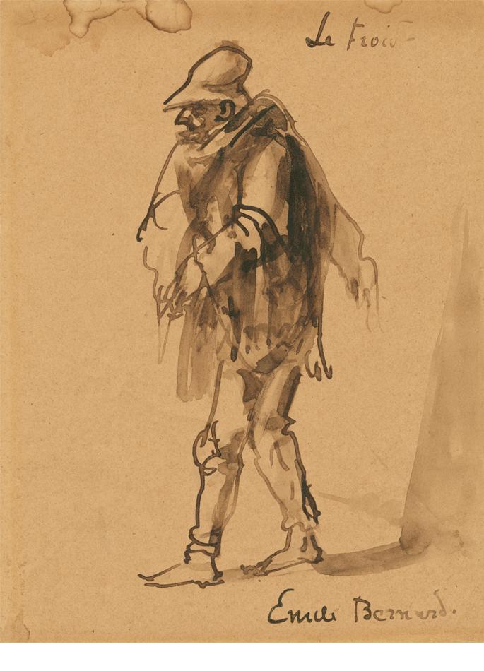 Émile Bernard le froid
