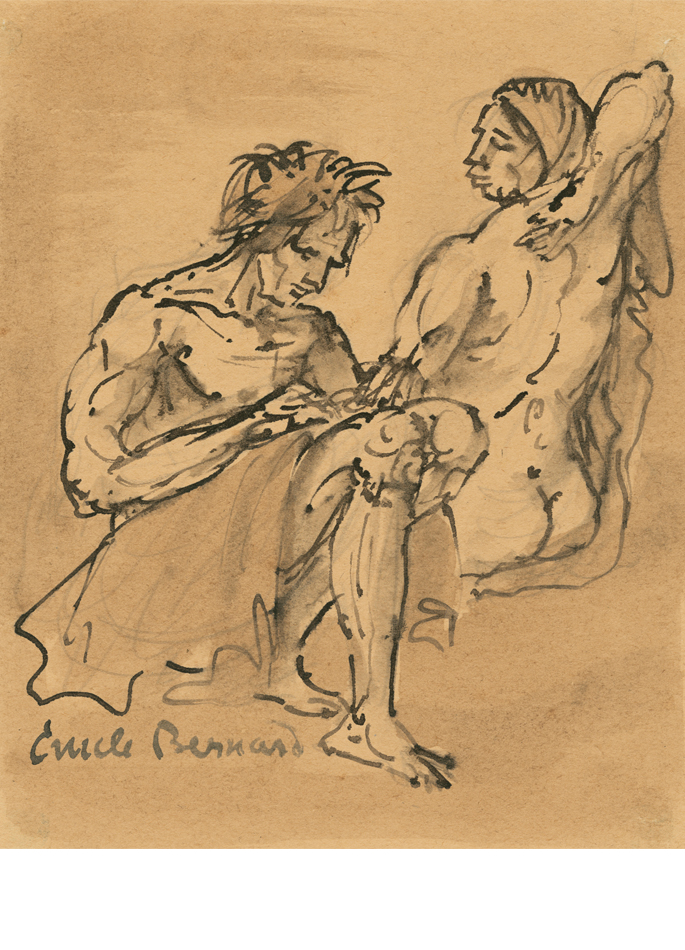 Émile Bernard Couple tunique