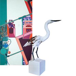 Exposition Émergences. Hervé Bédouin – Jacky Lézin