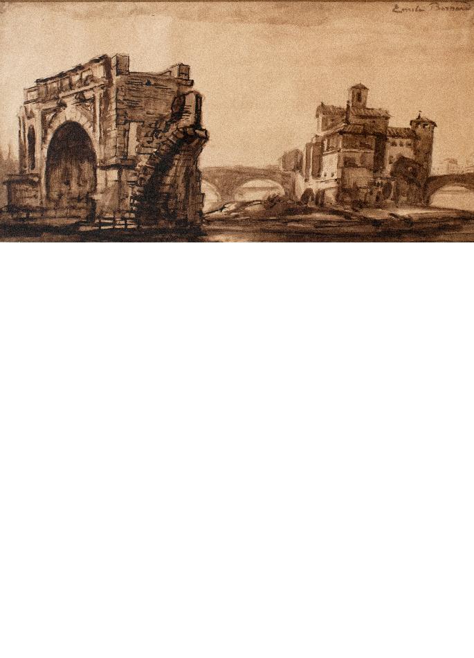 emile-bernard-rome