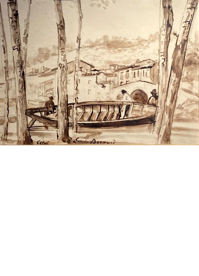emile-bernard-le-petit-port