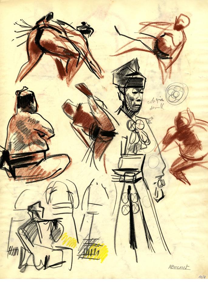 Albert Brenet Sumo Japon